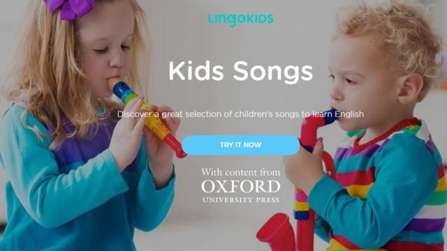 Lingokidsの歌を紹介します